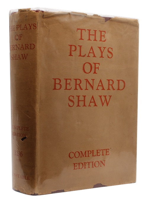 "Photo of ""The complete plays of bernard ..."""