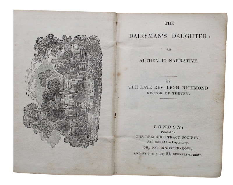 "Photo of ""The dairyman's daughter: an authentic ..."""