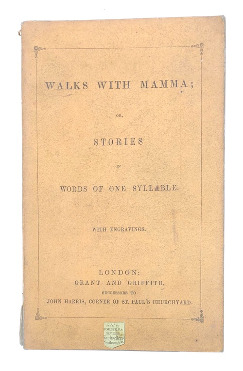 "Photo of ""Walks with mamma; or, stories ..."""