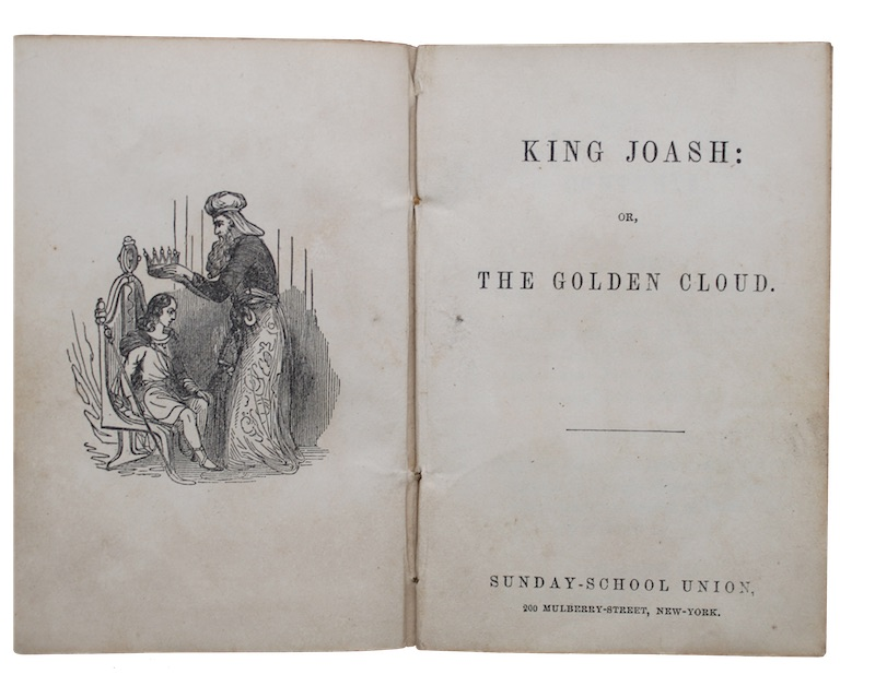 "Photo of ""King joash: or, the golden ..."""