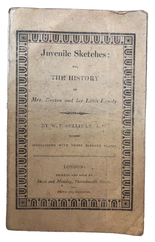 "Photo of ""Juvenile sketches; or, the history ..."""