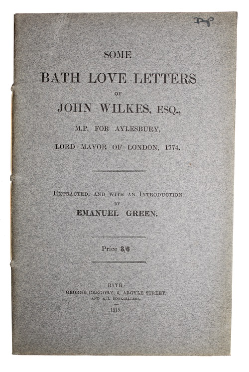 "Photo of ""Some Bath love letters of ..."""