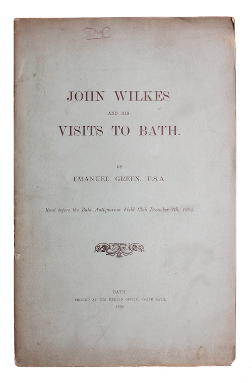 "Photo of ""John Wilkes and his visits ..."""