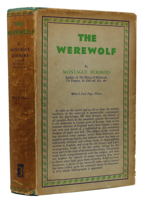 "Photo of ""The werewolf"""