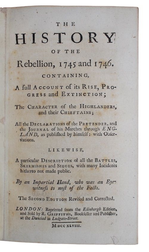 "Photo of ""The history of the Rebellion, ..."""