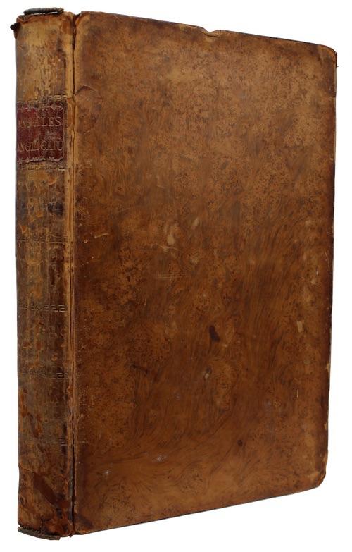 """Photo of """"Annales rerum anglicarum, et hibernicarum, ..."""""""