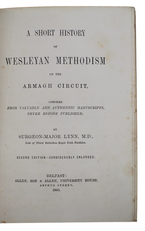 "Photo of ""A short history of wesleyan ..."""