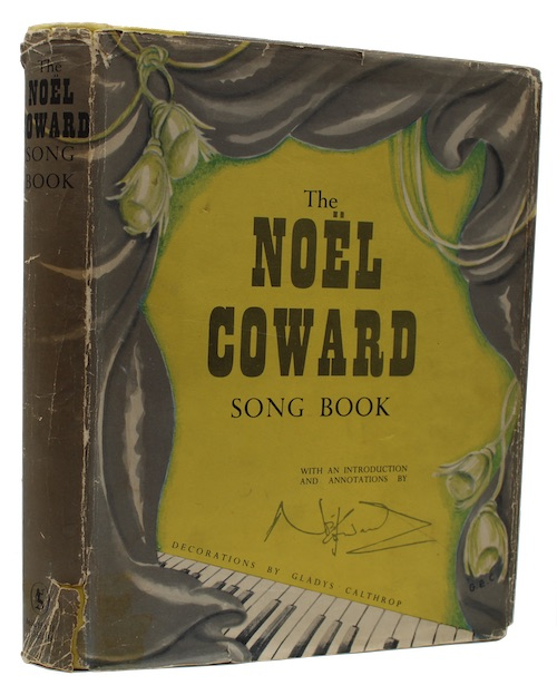 "Photo of ""The Noël Coward Song Book"""