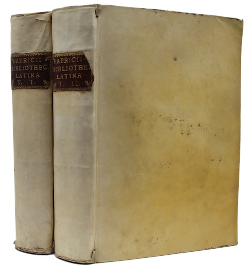 "Photo of ""Jo: alberti fabricii bibliotheca latina"""