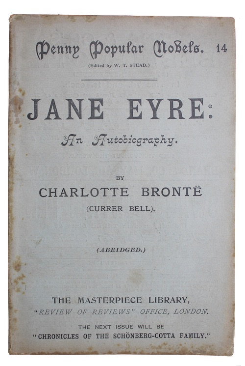 "Photo of ""Jane Eyre: an autobiography"""