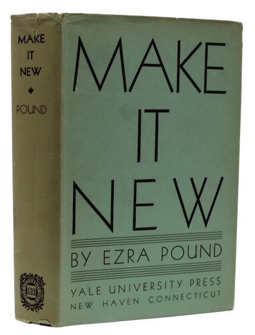 """Photo of """"Make it New: Essays by ..."""""""