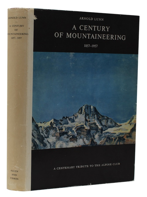 """Photo of """"A century of mountaineering 1857-1957"""""""