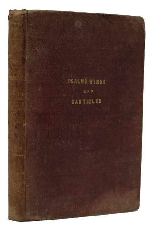 """Photo of """"Psalms hymns and canticles as ..."""""""