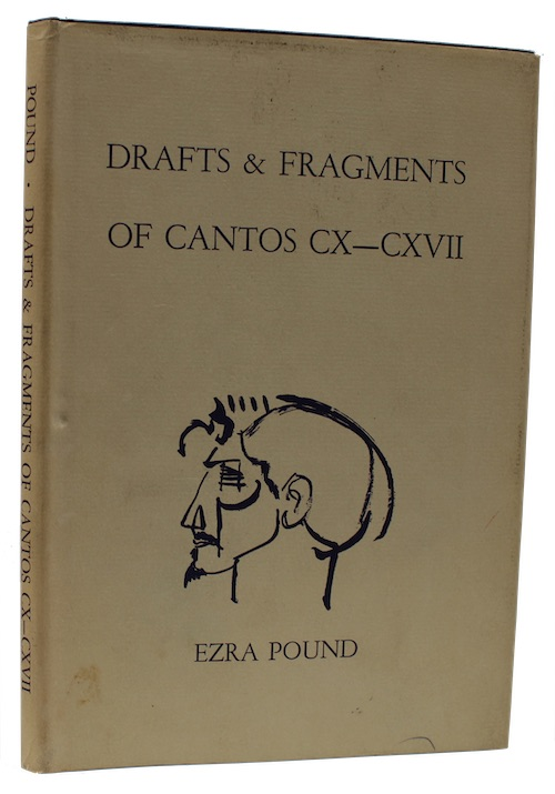 """Photo of """"Drafts & Fragments of cantos ..."""""""