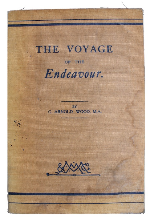 """Photo of """"The voyage of the Endeavour"""""""