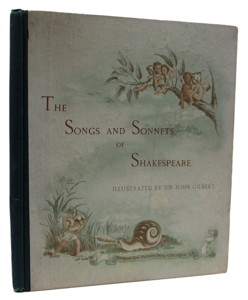 """Photo of """"Shakespeare's songs and sonnets: Illustrated ..."""""""