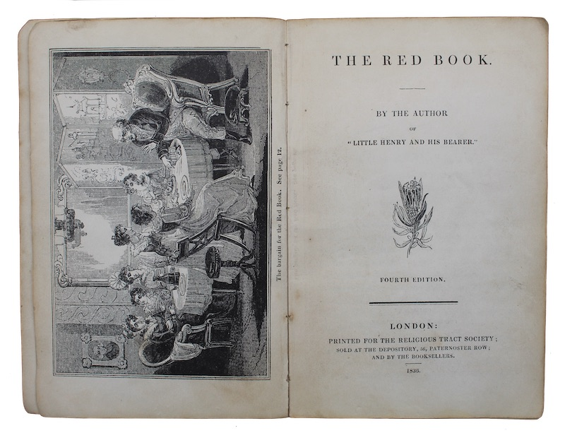 """Photo of """"The red book"""""""