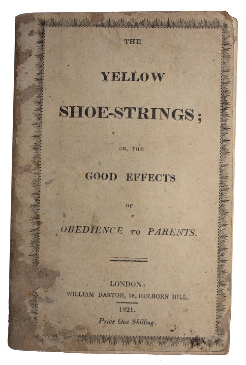 """Photo of """"The yellow shoe-strings; or, the ..."""""""