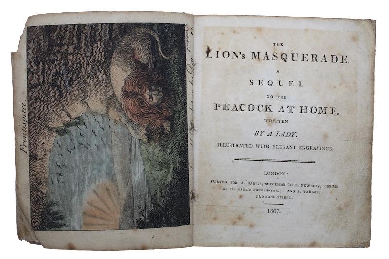 "Photo of ""The lion's masquerade. A sequel ..."""