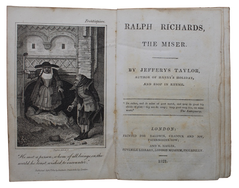 "Photo of ""Ralph richards, the miser"""