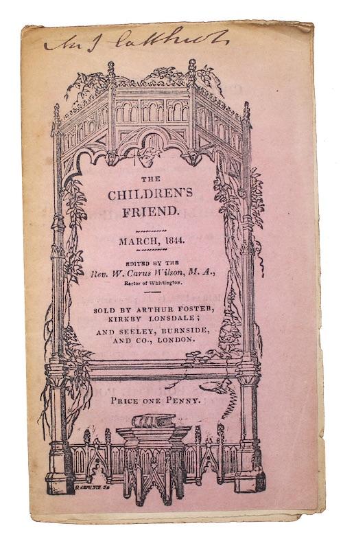 "Photo of ""The children's friend"""