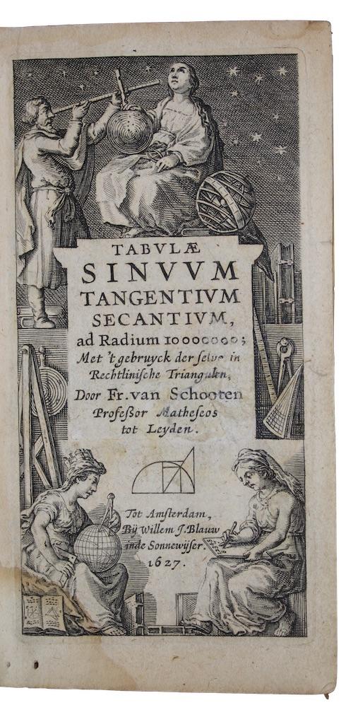 """Photo of """"Tabulae sinuum tangentium secantium, ad ..."""""""