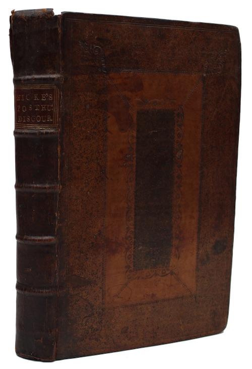 "Photo of ""A volume of posthumous discourses ..."""