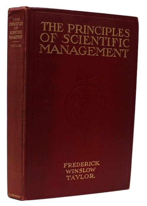 "Photo of ""The Principles of Scientific Management"""