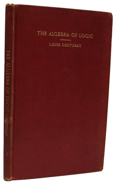 "Photo of ""The algebra of logic"""