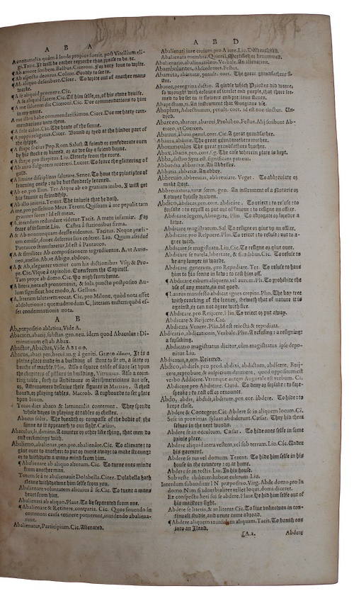 """Photo of """"Thesaurus linguae Romanae & Britannicae, ..."""""""