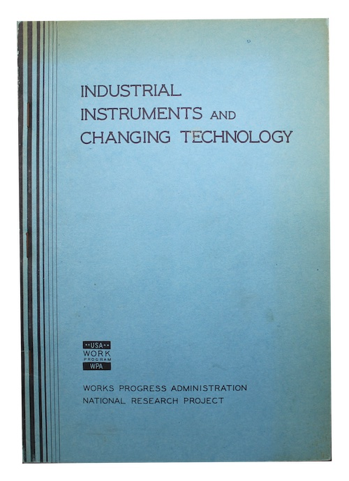 """Photo of """"Industrial instruments and changing technology"""""""