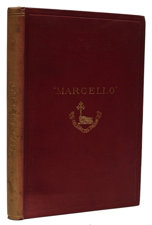 """Photo of """"Marcello: the autobiography of a ..."""""""