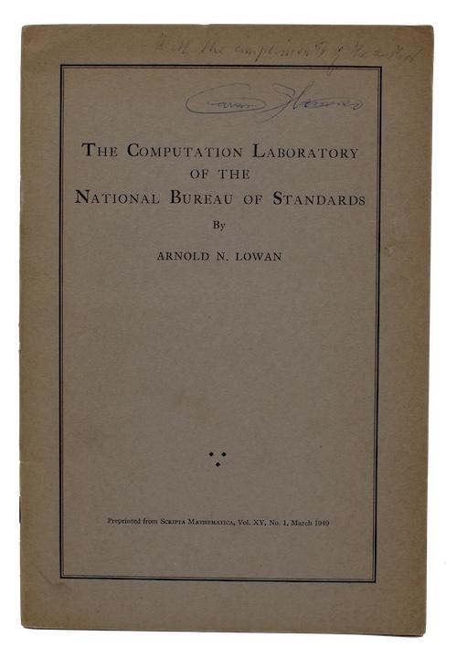 "Photo of ""The Computation Laboratory of the ..."""