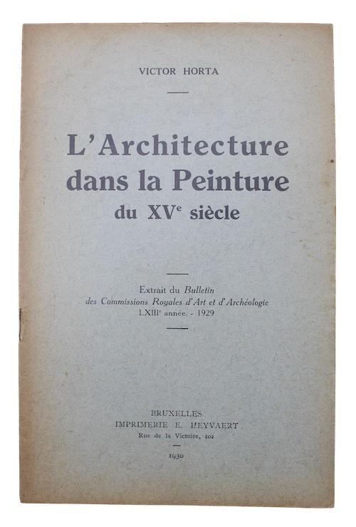 """Photo of """"L'Architecture dans la Peinture du ..."""""""