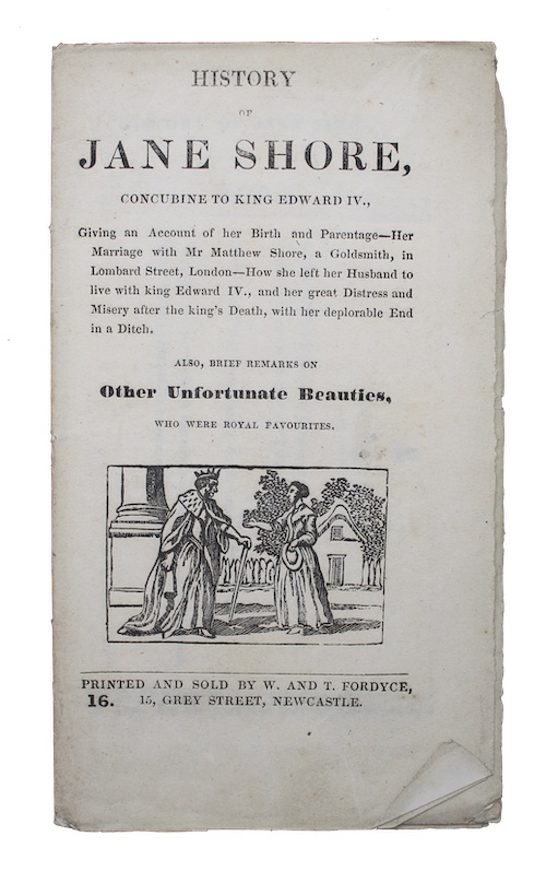 "Photo of ""History of Jane Shore, concubine ..."""