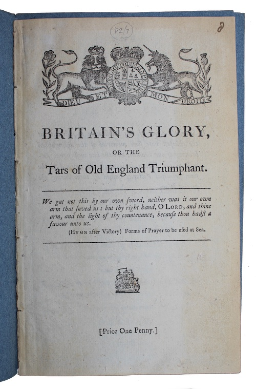 """Photo of """"The British Navy Triumphant! Being ..."""""""