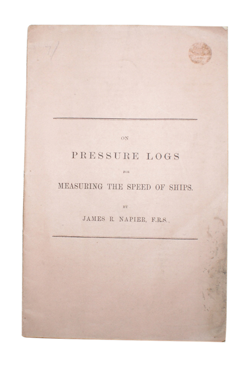 """Photo of """"On Pressure Logs for Measuring ..."""""""