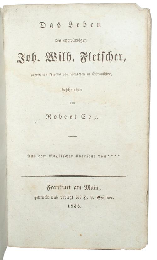 """Photo of """"Das Leben des ehrwuerdigen Joh. ..."""""""