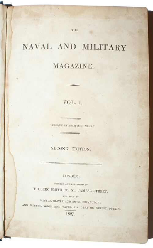 "Photo of ""The naval and military magazine ..."""