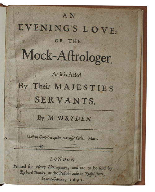 "Photo of ""An evening's love: or, the ..."""