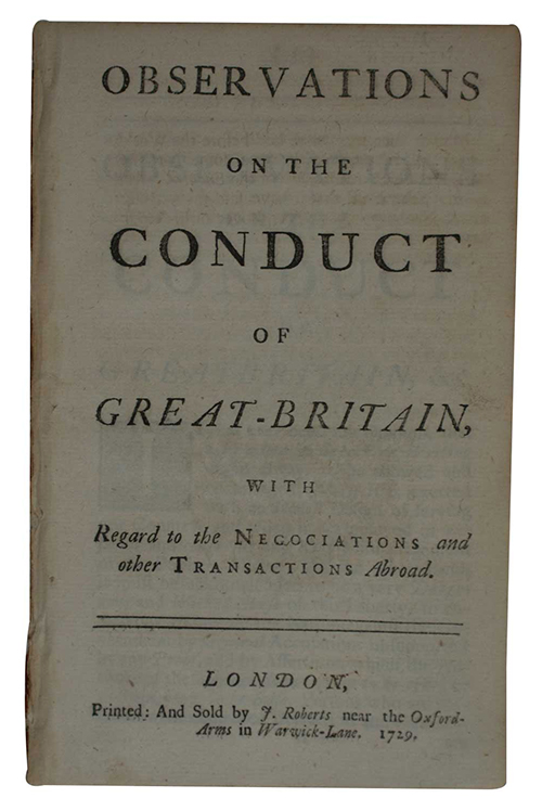 "Photo of ""Observations on the conduct of ..."""