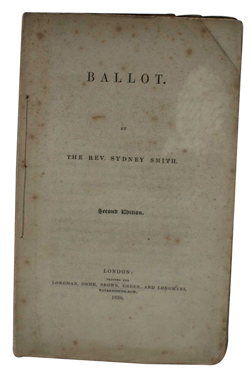 "Photo of ""Ballot"""