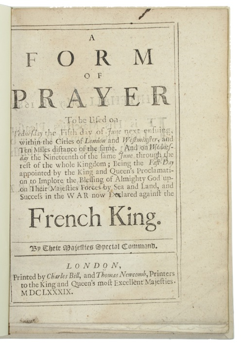 """Photo of """"A form of prayer To ..."""""""