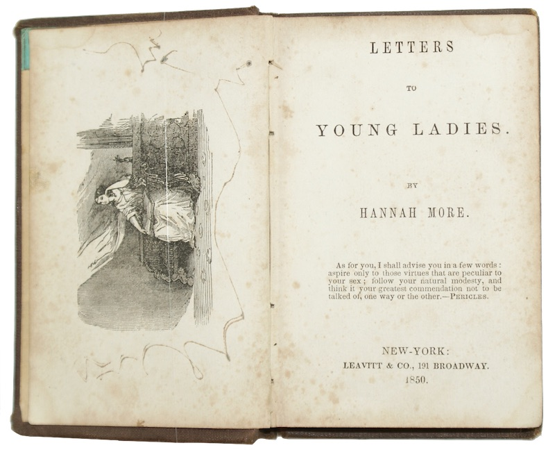 "Photo of ""Letters to young ladies"""