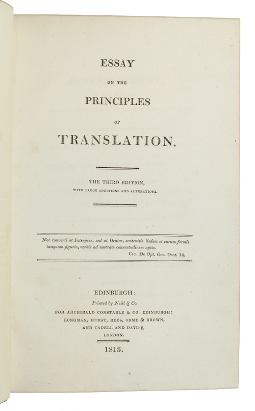 "Photo of ""Essay on the principles of ..."""