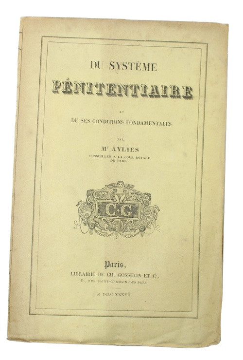 "Photo of ""Du Systeme Penitentiare et De ..."""