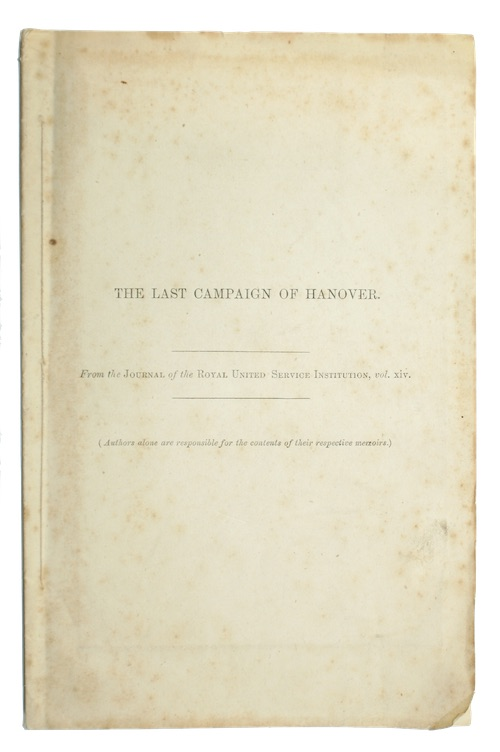 "Photo of ""The last campaign of Hanover. ..."""