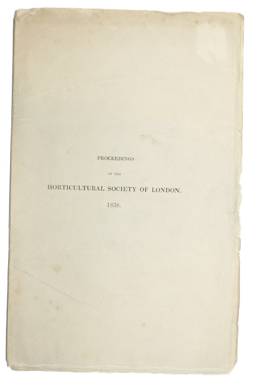 "Photo of ""Proceedings of the Horticultural Society ..."""