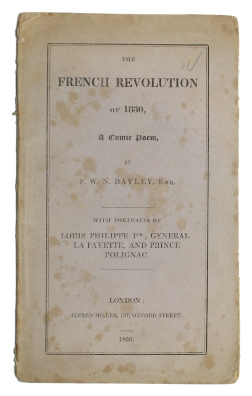 """Photo of """"The French Revolution of 1830. ..."""""""