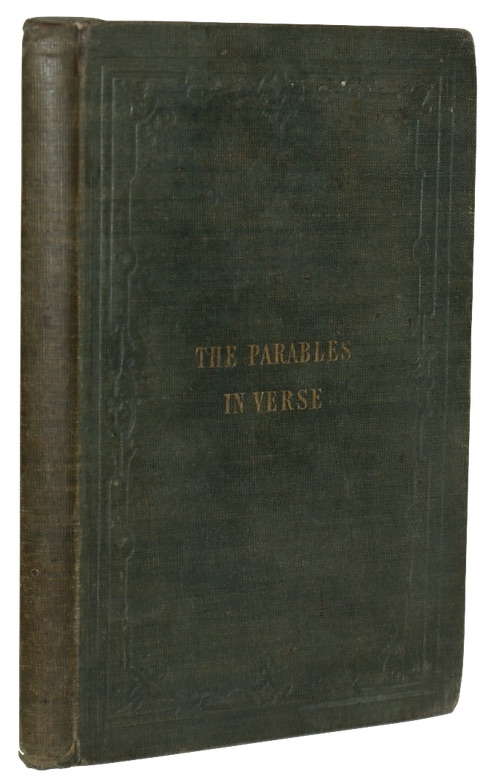 """Photo of """"The parables of our lord ..."""""""